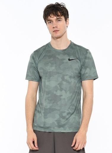Nike Baskılı Tişört Yeşil
